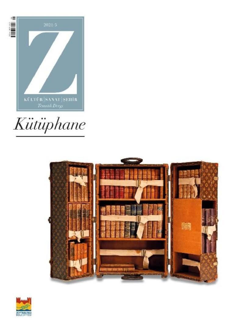 Tematik dergi Z'nin bu ay ki konusu 'Kütüphane'