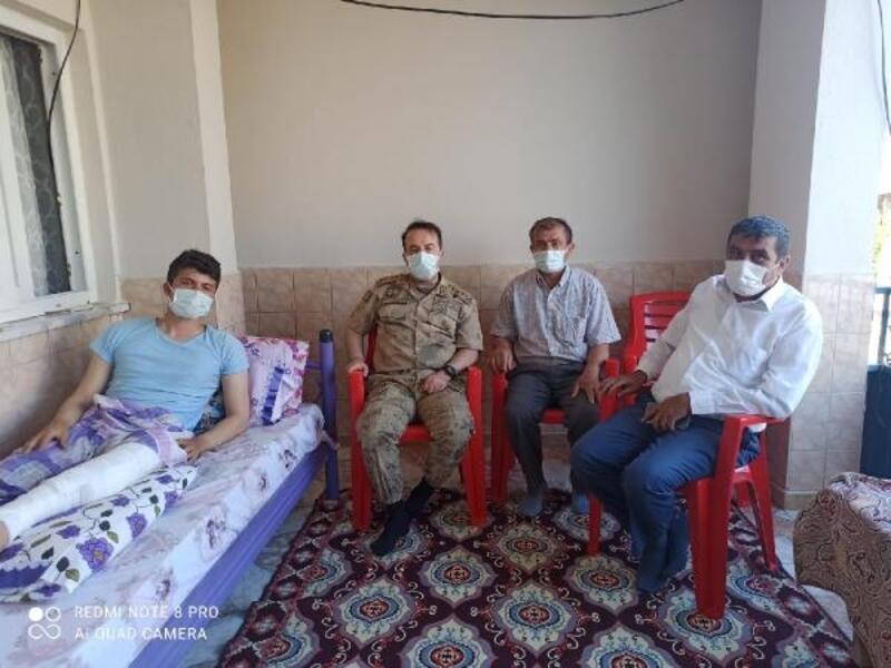 Albay Zafer Tombul'dan Kuzey Irak gazilerine ziyaret