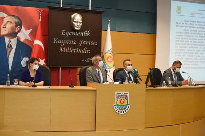 Tarsus Belediyesi'nin 2020 mali yılı kesin hesabı kabul edildi
