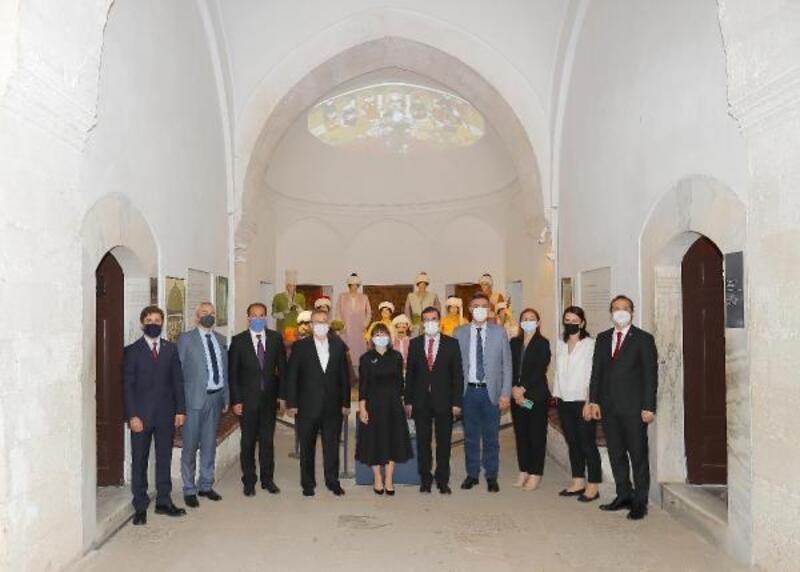Trakya Üniversitesi, Kuzey Makedonya Eğitim ve Bilim Bakanı Mila Carovska'yı ağırladı