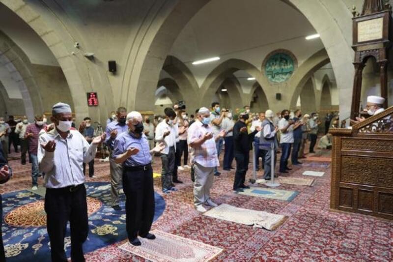 Kayseri'de yağmur duası edildi