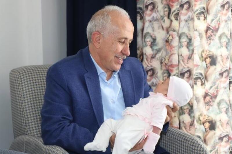 Mersin'de 4 bininci bebeğe 'hoş geldin' sürprizi