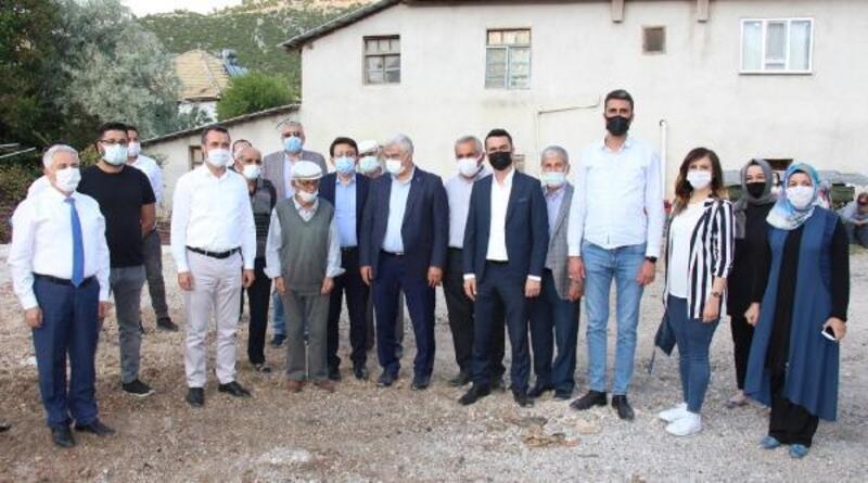 AK Parti'den Karaca ailesine ziyaret