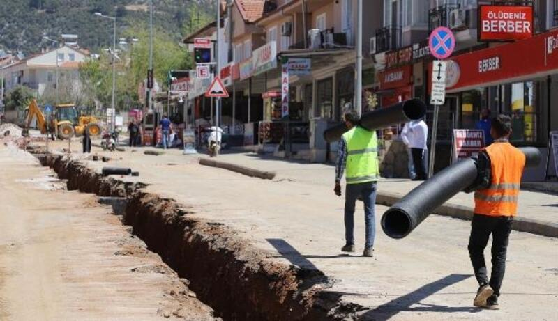 Hisarönü- Ovacık Kanalizasyon hattının 84 kilometresi tamamlandı