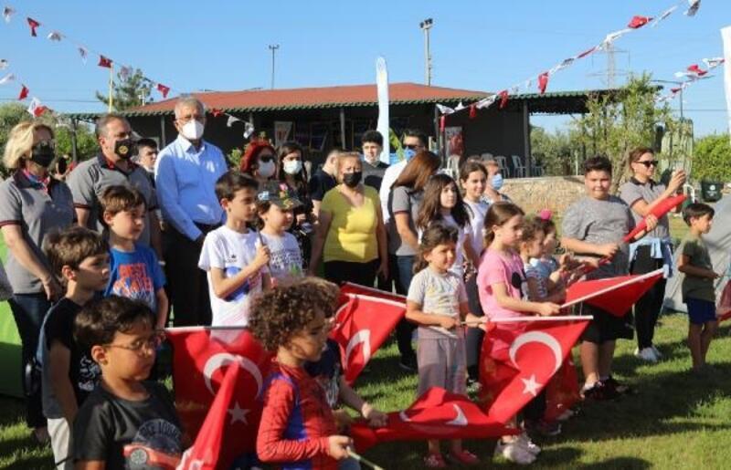 Atatürk'ün Mezitli'ye gelişinin 83'üncü yıldönümü nedeniyle tören yapıldı