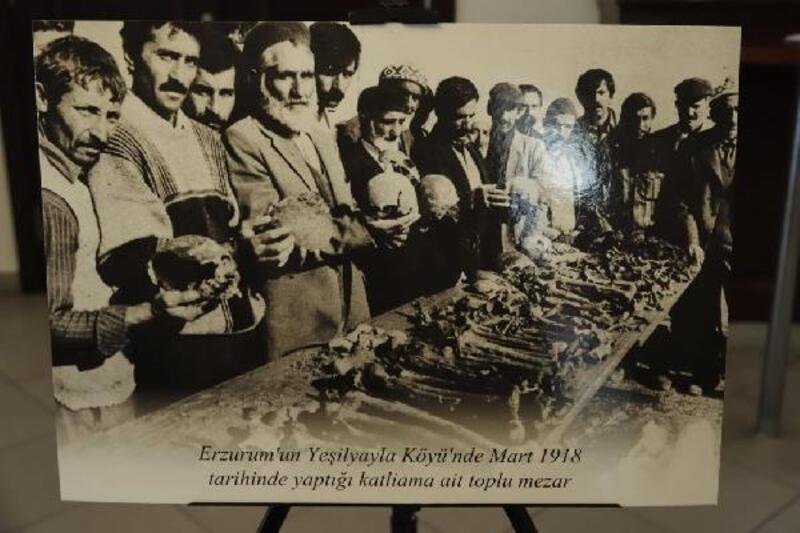 Kağıthane Belediyesi, Ermeni çetelerinin yaptığı katliamları fotoğraflarla sergiledi