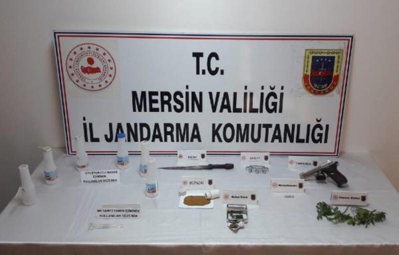 Tarsus'ta uyuşturucu operasyonu: 1 gözaltı