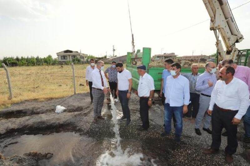 Diyarbakır'da 28 kırsal mahallenin su sorunu çözülüyor