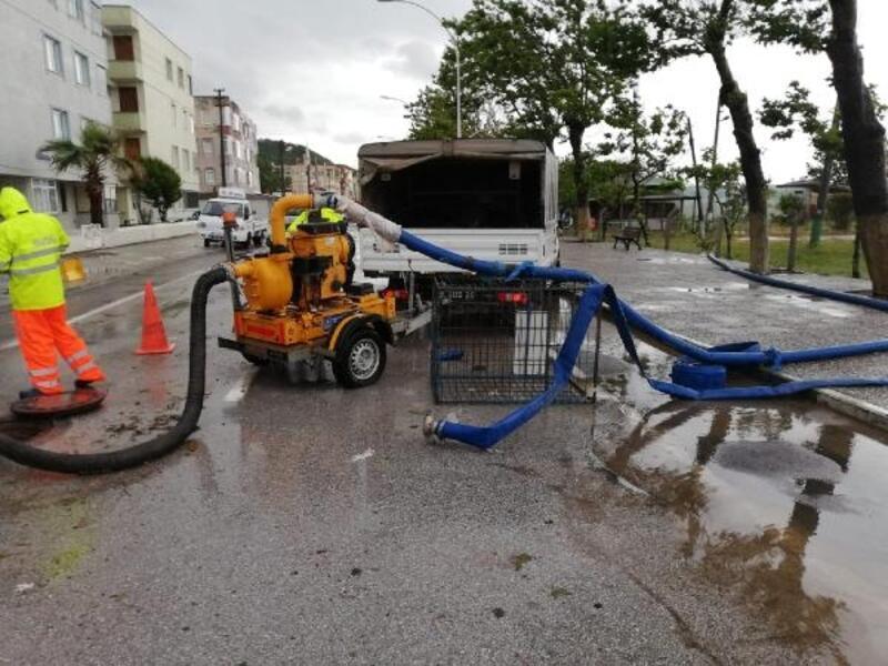 BUSKİ, sel bölgesindeki su hatlarını onardı