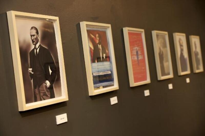 'Sanatçı Yorumlarıyla Atatürk' resimleri sergisi açıldı