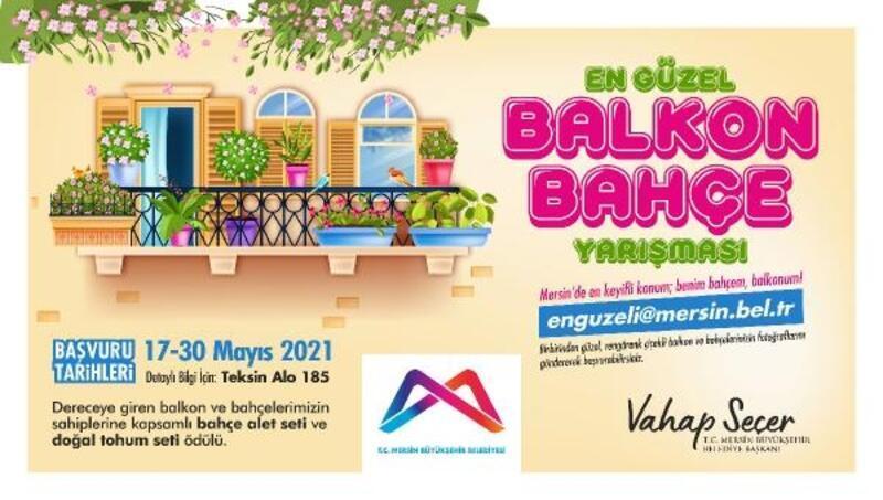 Büyükşehir'den 'En Güzel Bahçe ve Balkon Yarışması'