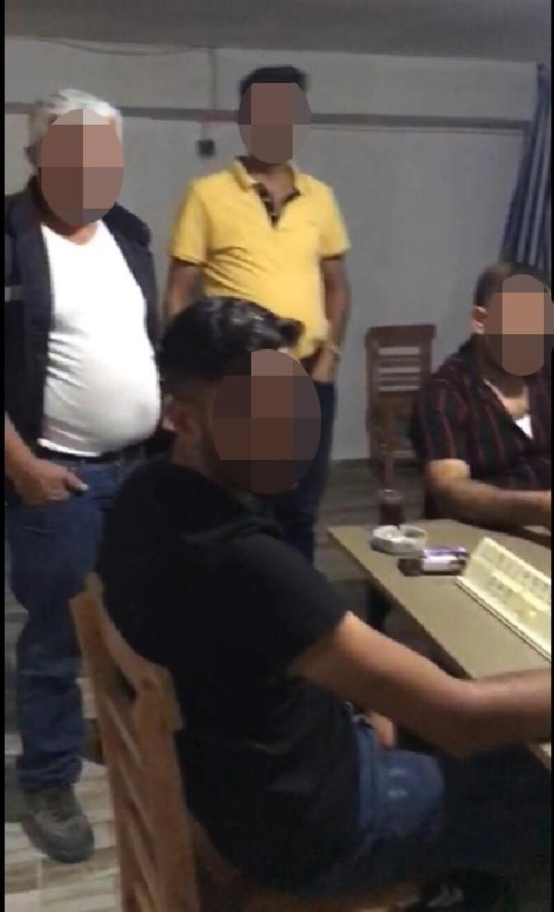 Kumar oynayan 7 kişi suçüstü yakalandı