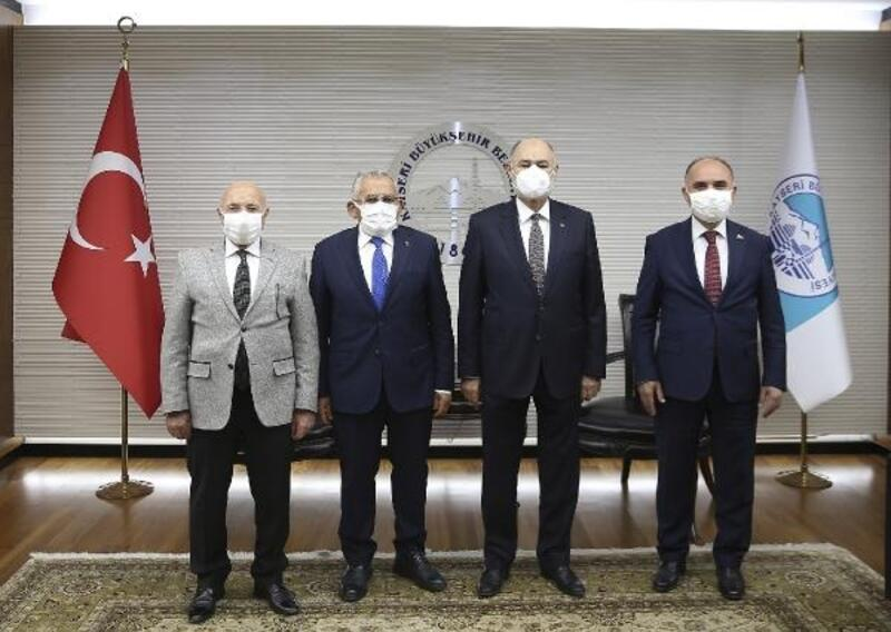 Bakan Yardımcısı Kavaklıoğlu'ndan Büyükşehir Belediyesine ziyaret
