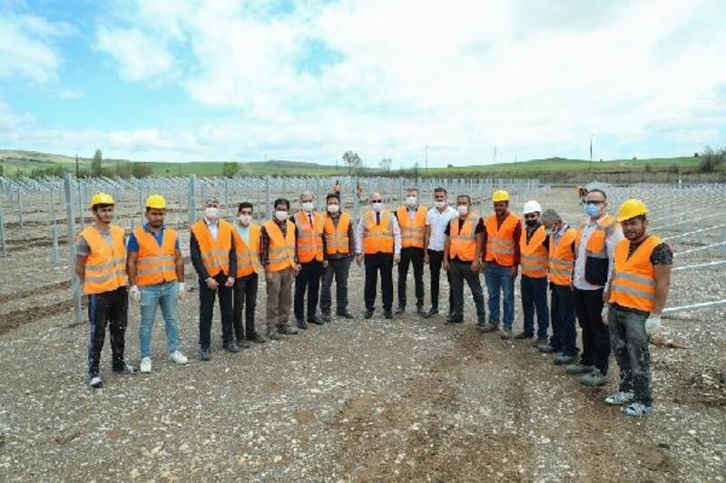 Sivas Belediyesi'nin GES tesisi Temmuz'da üretime başlıyor