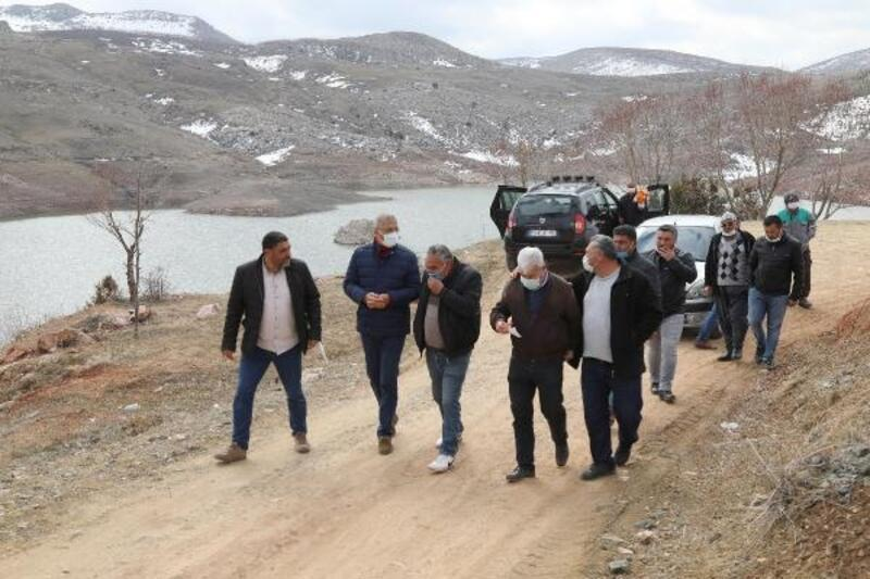 Mezitli'de üreticiye sulama suyu desteği