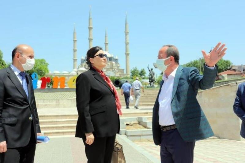 Selimiye Meydan Projesi'nde inceleme