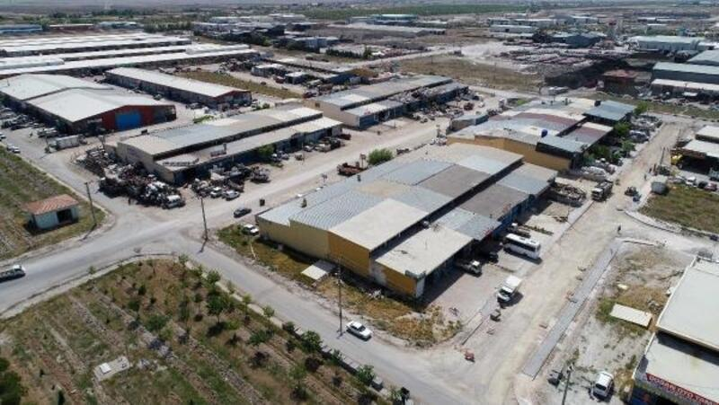 Meram Belediyesi, Yeni Meram  Sanayi sitesindeki  alt yapı çalışmalarını hızlandırdı