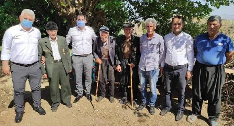 Kaymakam Akça'dan Kore gazilerine ziyaret