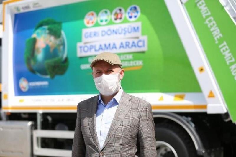 Kocasinan'da atık malzemeler geri dönüşüme kazandırılıyor