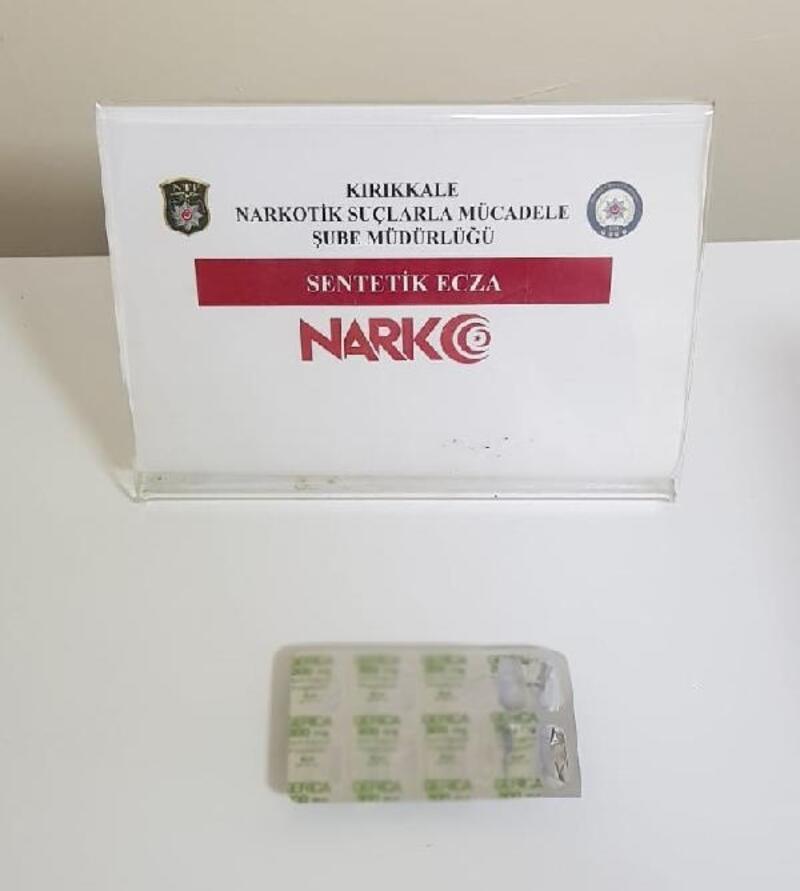 Kırıkkale'de uyuşturucuya 1 tutuklama
