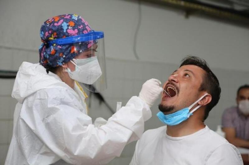 Eskişehir Büyükşehir personeline koronavirüs taraması
