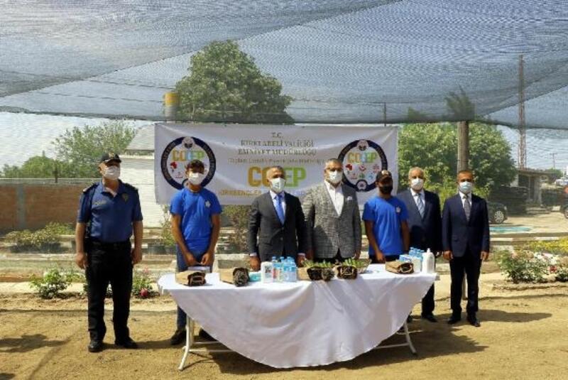 Kırklareli'de 'Kırkgençler Emin Ellerde Projesi'nde ilk hasat
