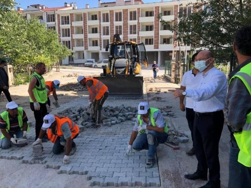 Başkan Özcan, çalışmaları yerinde inceledi