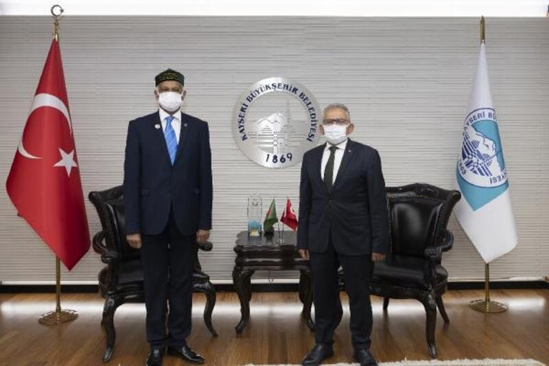 Bangladeş Büyükelçisi'nden Başkan Büyükkılıç'a ziyaret