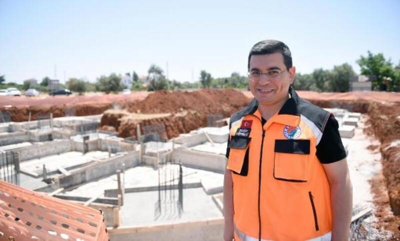 Kepez'de 6 mahalle pazarının temeli atıldı