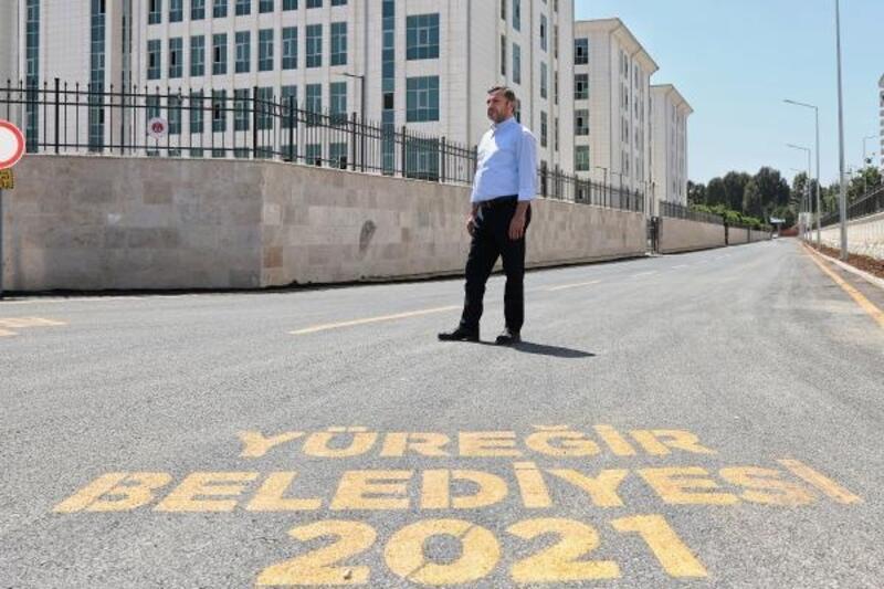 Yüreğir Belediyesi'nden yeni adliye binası çevresinde hummalı çalışma