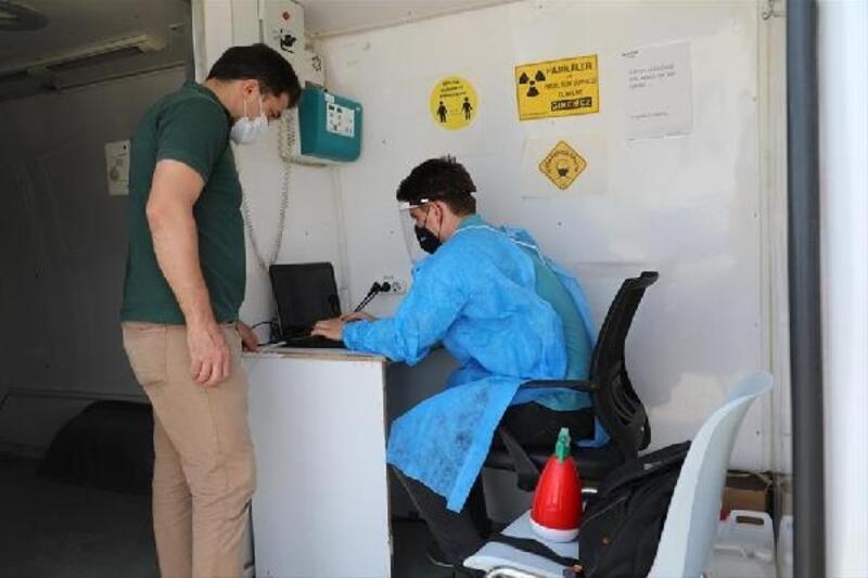 İnegöl Belediyesi personeli sağlık taramasından geçti