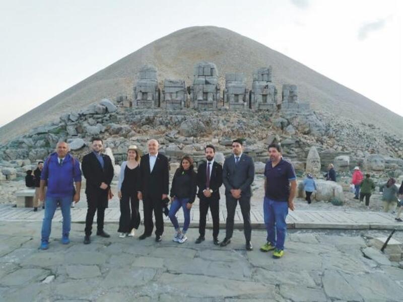 Büyükelçi Peralta: Nemrut Dağı'na hayran kaldım