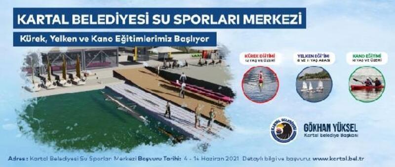 Kartal Belediyesi Dragos Su Sporları Merkezi açılıyor