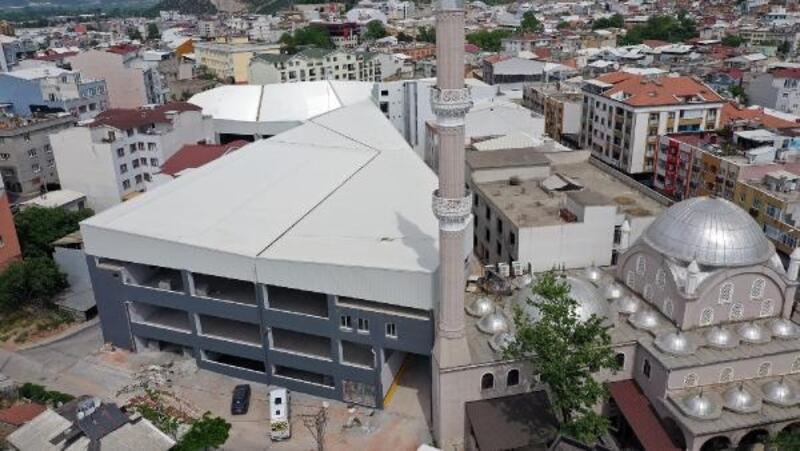 Kestel'deki otopark ve pazar alanı inşaatında sona yaklaşıldı