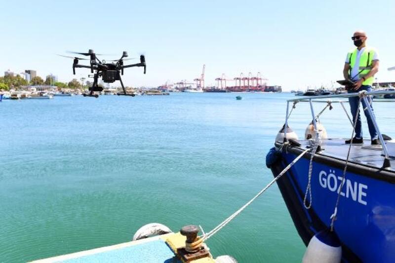 Denetimler caydırıcı oldu, Mersin'de gemi atıkları azaldı