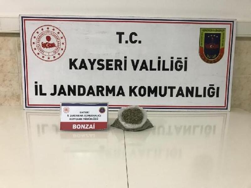 Kayseri'de uyuşturucu ticaretine 1 gözaltı