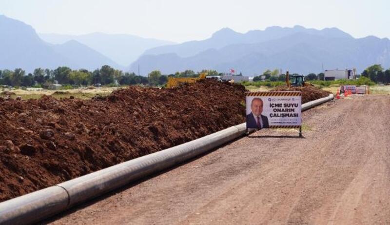 Büyükşehir'den Kepez ve Döşemealtı'nda içme suyu çalışması