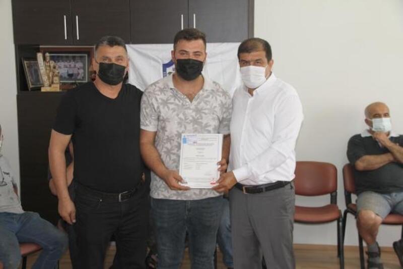 Erdemli'de 170 sanayi esnafı yeterlilik belgesi aldı