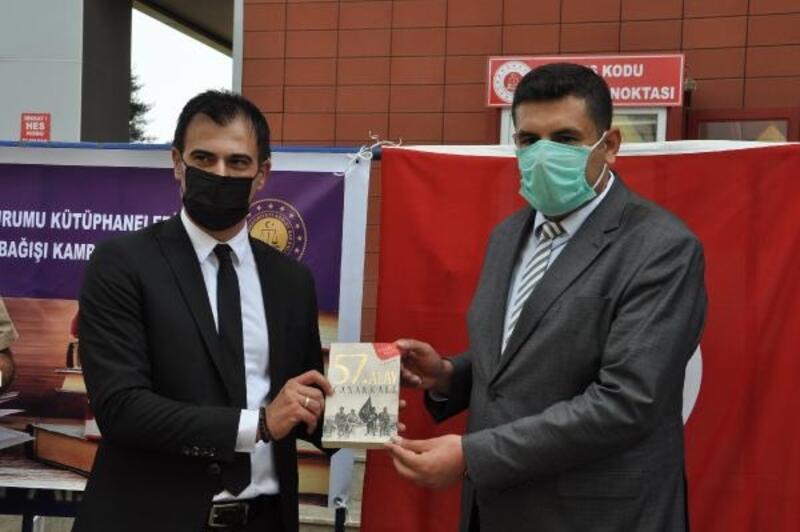 İslahiye'de cezaevi için 'kitap bağış' kampanyası