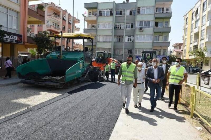 Tarsus'ta asfalt çalışmalarına aralıksız devam ediyor