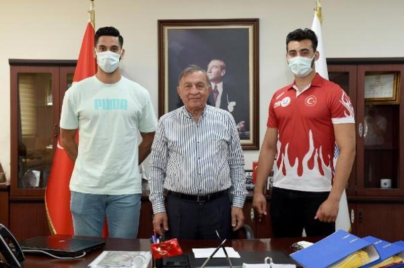 Başarılı sporcular Seyhan Belediyespor'da