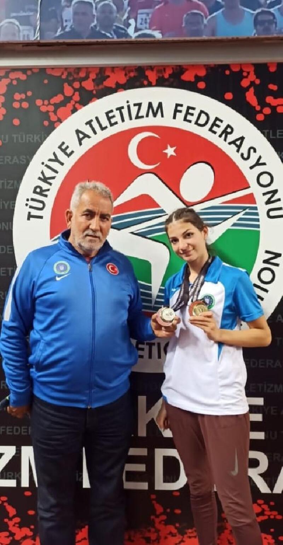 Atletizmde Büyükşehir Belediyespor fırtınası