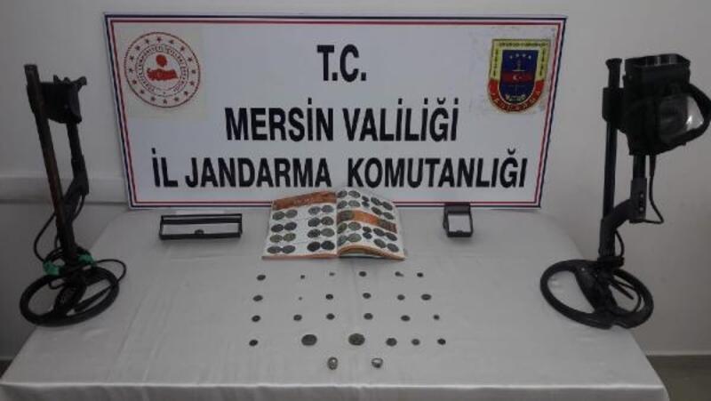Mersin'de tarihi eser kaçakçılarına gözaltı