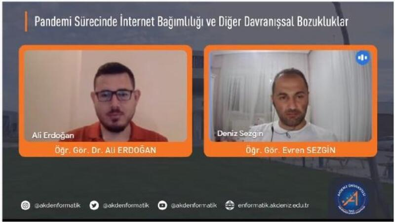Dr. Ali Erdoğan: Pandemi bağımlılıkları artırdı