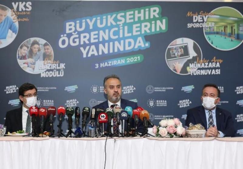 Bursa'da LGS'ye girecek öğrencilere ulaşım ücretsiz olacak