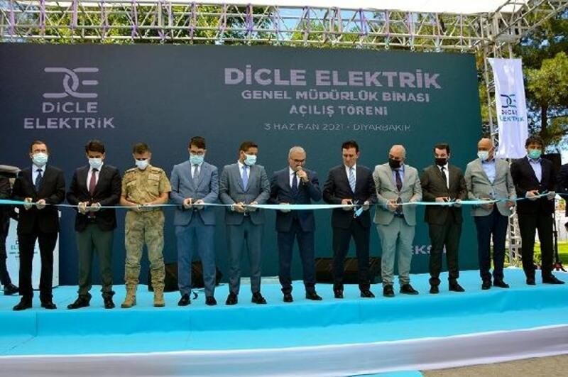 Dicle Elektrik'in yeni genel müdürlük binası törenle hizmete girdi