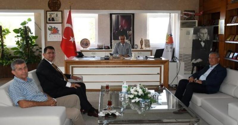 AESOB Başkanı Dere'den Topaloğlu'na ziyaret