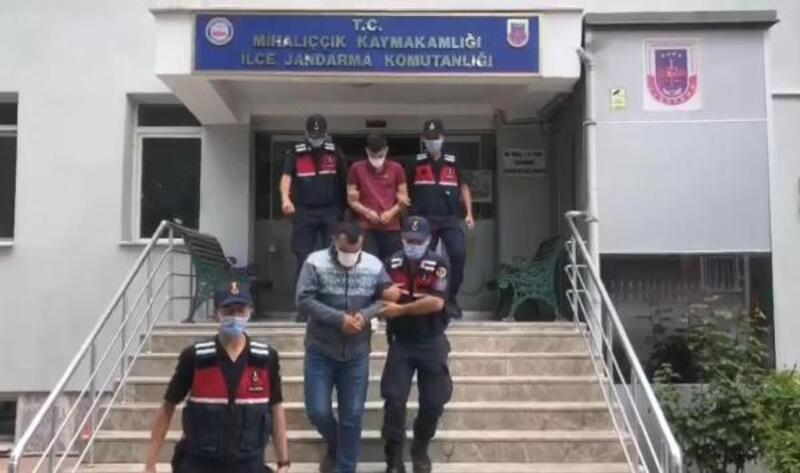 Eskişehir'de su motoru çalan 2 şüpheli yakalandı