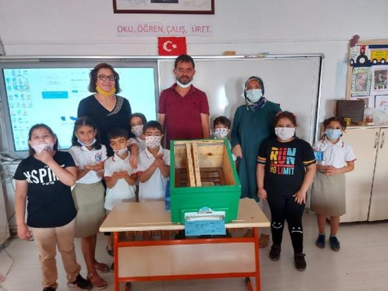 Öğrenciler, 'bal gibi çocuk' projesiyle bilinçlendirildi