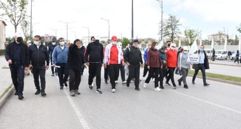 Sivas'ta çevre yürüyüşü düzenlendi